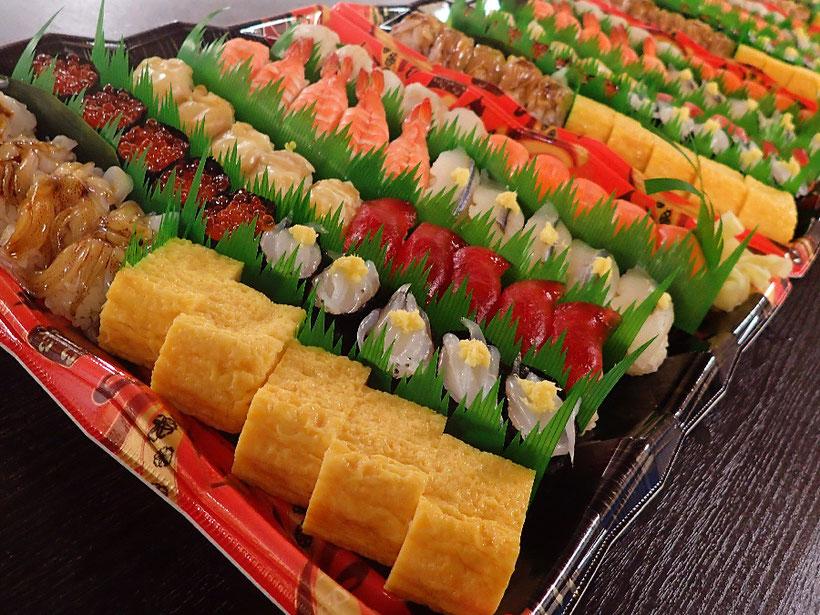 渋谷区 年末年始 宅配寿司