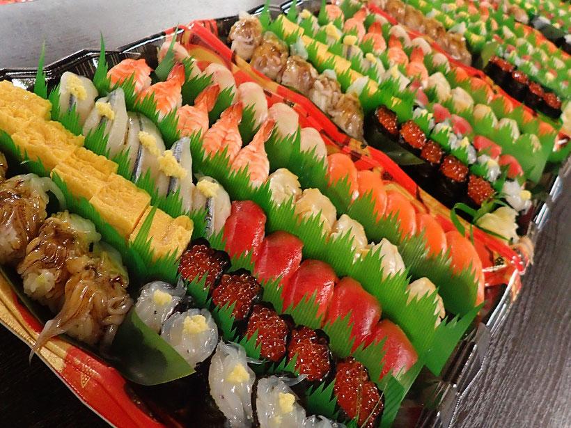 千代田区 納会 宅配寿司