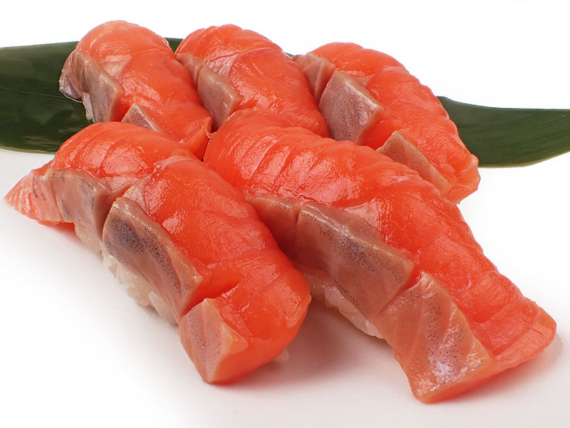 宅配寿司 サーモン