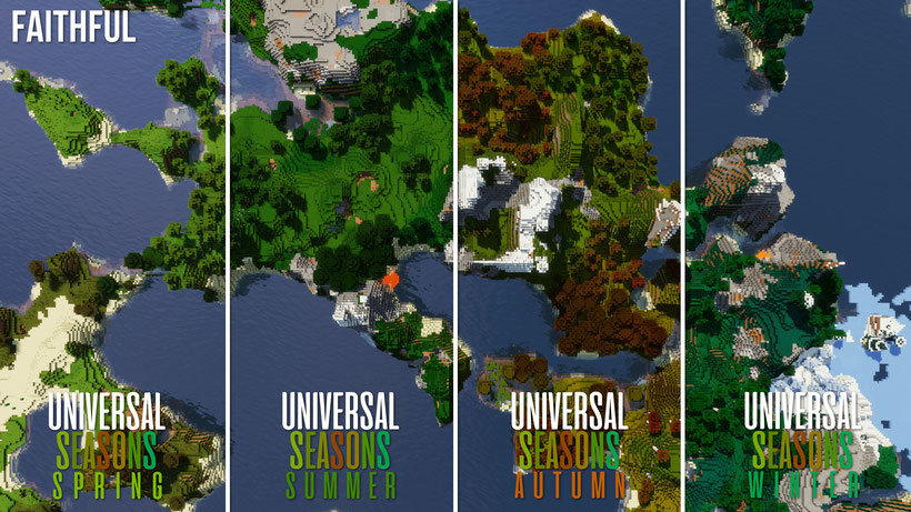 Faithful Universal Seasons Comparison