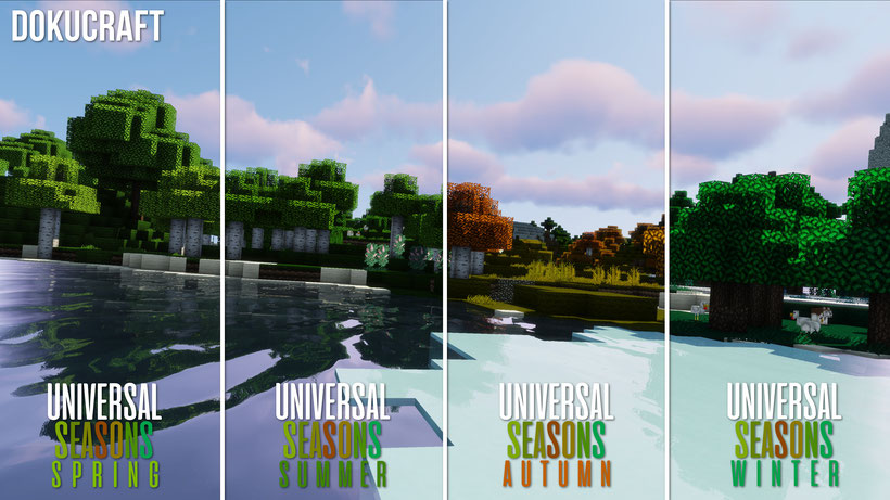 Dokucraft Universal Seasons Comparison