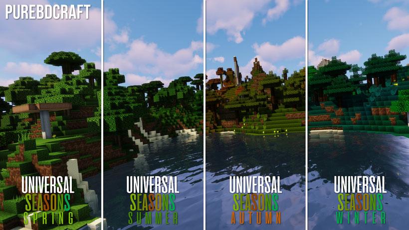 PureBDcraft Universal Seasons Comparison
