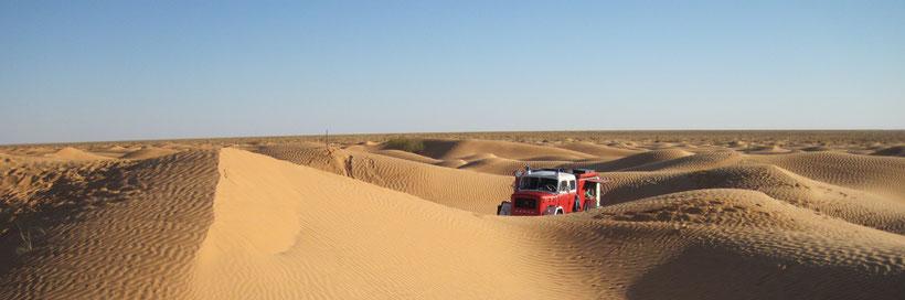 Grand Erg Oriental - Süd-Tunesien