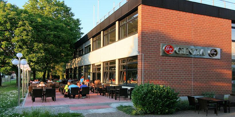 Chinarestaurant Ginza in Konstanz Garten Terrasse