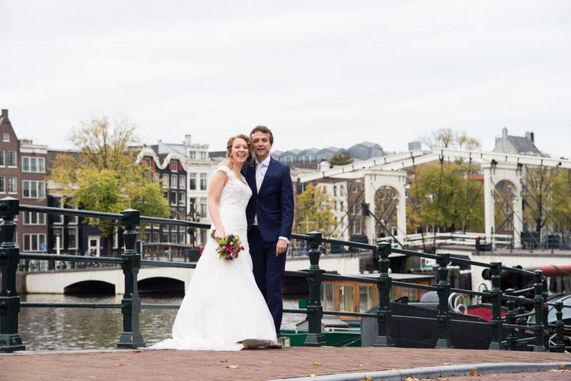 grachten, trouwreportage, amsterdam, fotografie