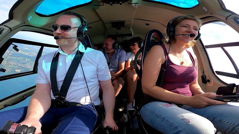 Elite Flights, Blick von Titlis Richtung Süden