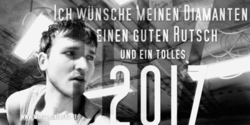 """Marc Groneberg wünscht ein """"Frohes Neues Jahr 2017"""" / Happy New Year 2017"""