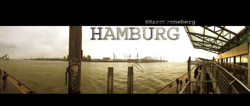 Hamburg Port in January 2017 - #MarcGroneberg #Harbour | Photo © Marc Groneberg