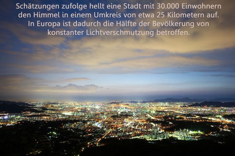 Lichtverschmutzung, HH-Leuchten, Lichtblog, Lichtsmog