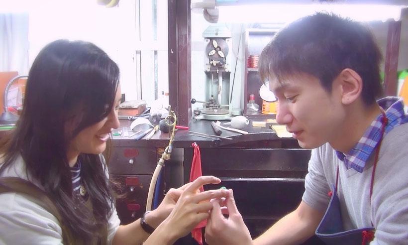 手作りコンセプト結婚指輪