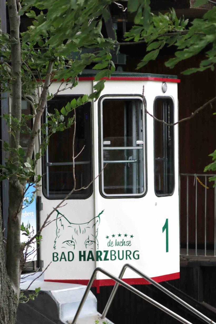 Burgberg, Bad Harzburg, Harz, Seilbahn