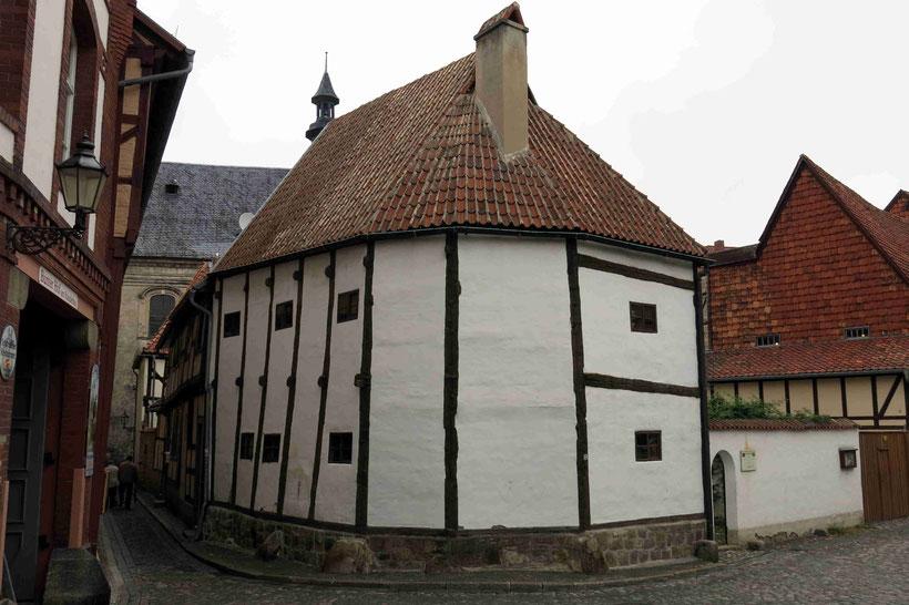 Quedlinburg, Fachwerkmuseum, Ständerbau