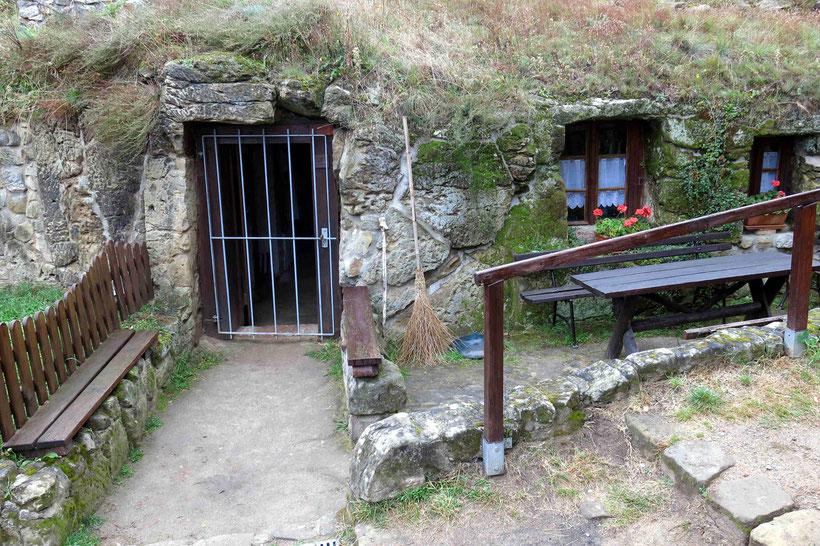 Höhlenwohnungen am Schäferberg, Langenstein