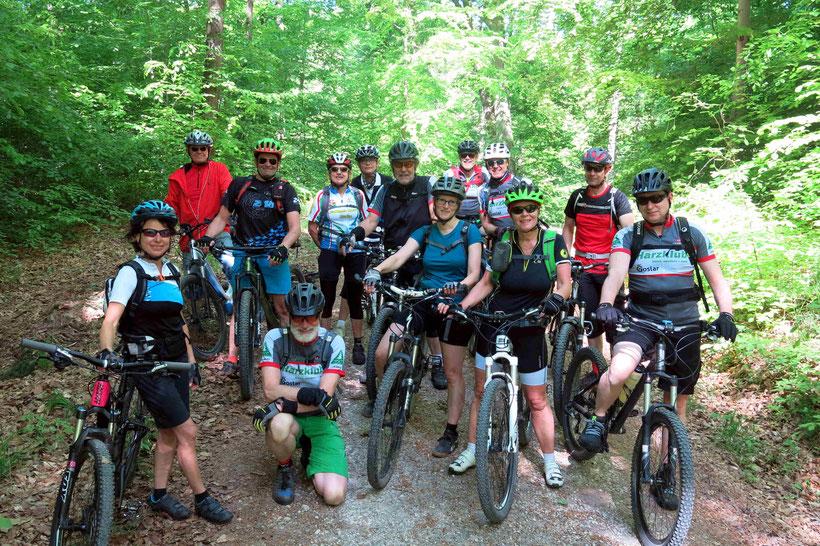 Mountainbiken Harzklub Goslar Harlywald