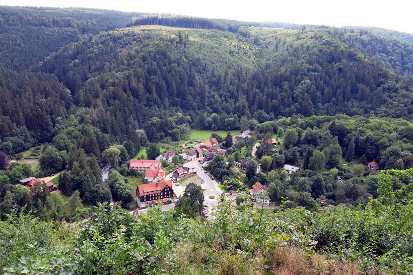 Bodetal zwischen Thale und Treseburg