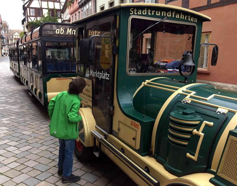 Quedlinburg, Bimmelbahn, Stadtrundfahrt