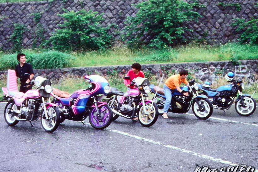 カスタムペイント旧車、昭和のカスタムペイントしたバイク5台