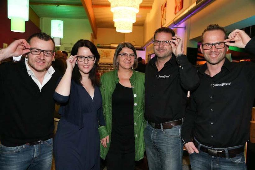 Team von Augenoptik Kebsak und Cook&Wine