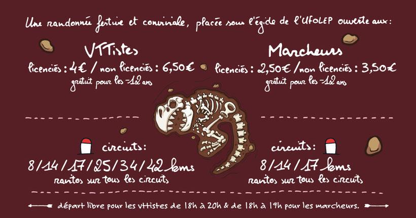 La Chasse au Dahu 2018 - Vélo Club Saint-Priest-sous-Aixe - Rando - VTT - Pédéstre - Programme