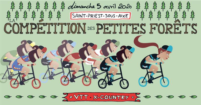 La Chasse au Dahu 2017 - Vélo Club Saint-Priest-sous-Aixe - Rando - VTT - Pédéstre