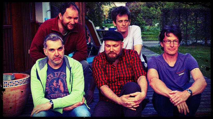 Hinten: Paul, Rene; Vorne: Thorsten, Markus, Johannes
