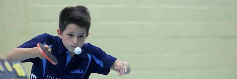 Mehr als Unentschieden war nicht drin: Luca Sanchez bei der 1. Jungen