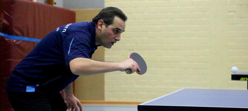 Adnan Khaddouj punktete für die 3. und die 4. Mannschaft.