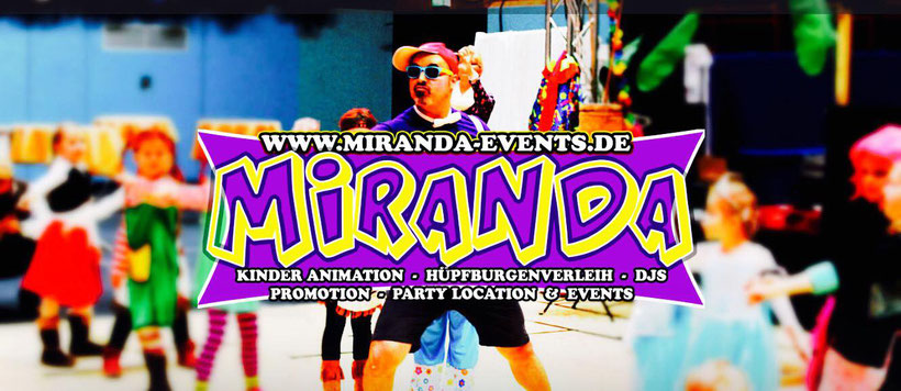 MIRANDA EVENTS - HAMBURG - PROMOTION - DJ