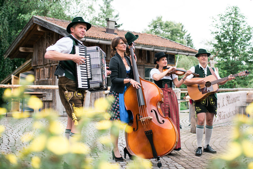 Die Kultivierten - Musik aus dem Oberallgäu - Foto: Bianca-Fotografie Schabmünchen