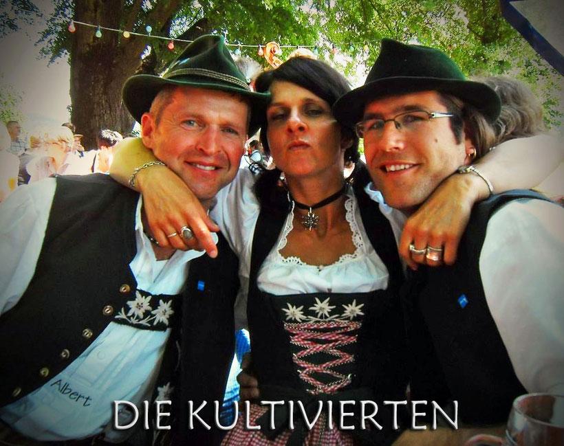 """DIE KULTIVIERTEN - Musik """"natürlich"""" aus dem Allgäu"""