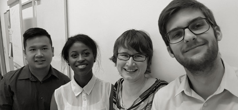 Das Team der Fachhochschule Nordwestschweiz FHNW P. Nguy, S. Barry, M. Krebs, S. Leubin