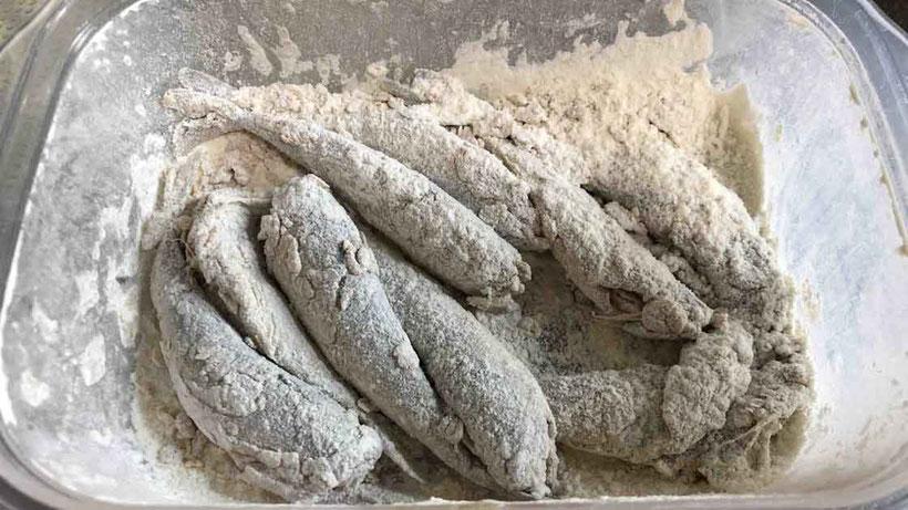 小麦粉 誰でも作れるコサバの南蛮漬けレシピ