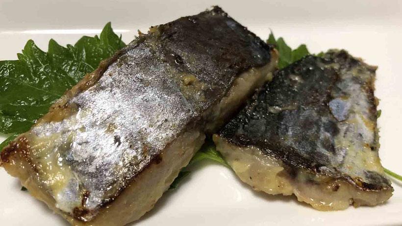 サワラの西京焼 サワラの炙り・西京焼・塩焼き・あら味噌汁のレシピ