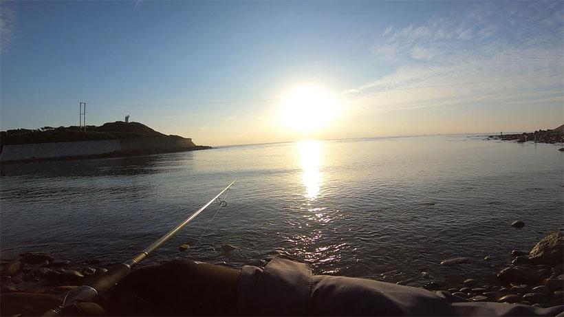 釣り松TV【淡路島の釣り】ショアジギングで座布団級ヒラメを釣り上げた!