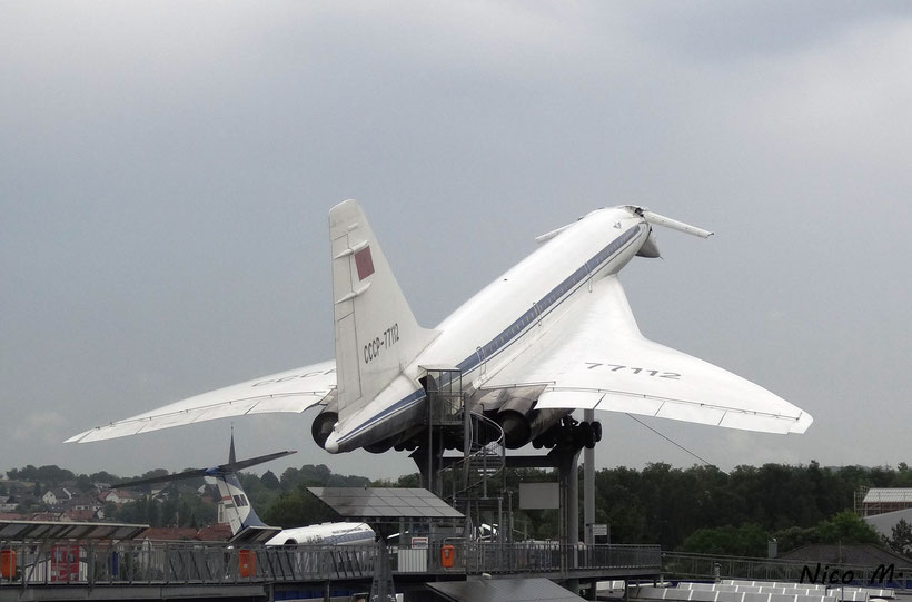 Tupolev 144 der Aeroflot