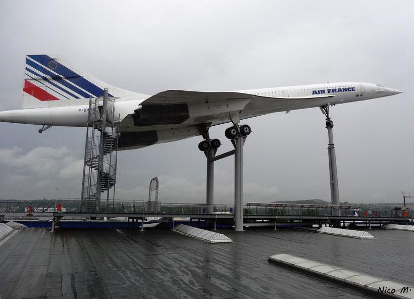 Blick auf die Concorde