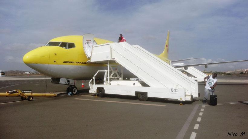 TUIfly B737-800 (Boa Vista)