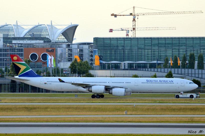 A340-600 (ZS-SNB)