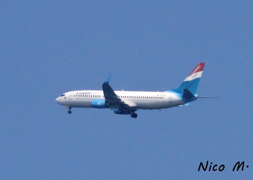 Luxair B737-800 (Boa Vista)