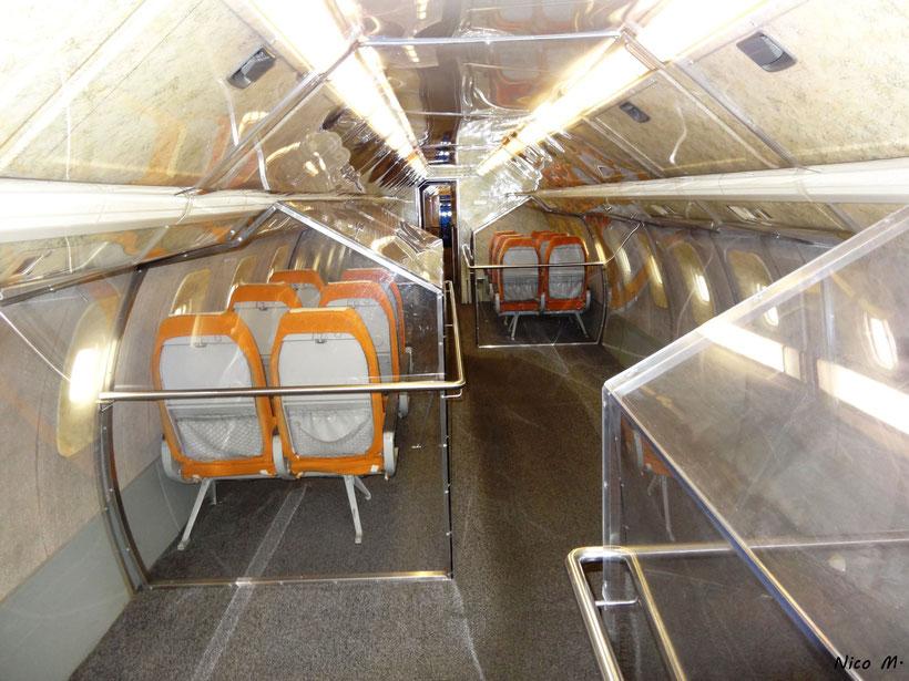 Kabine der Tu144