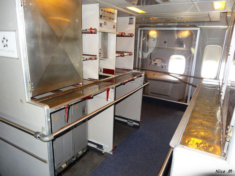 Bordküche in der B747-400