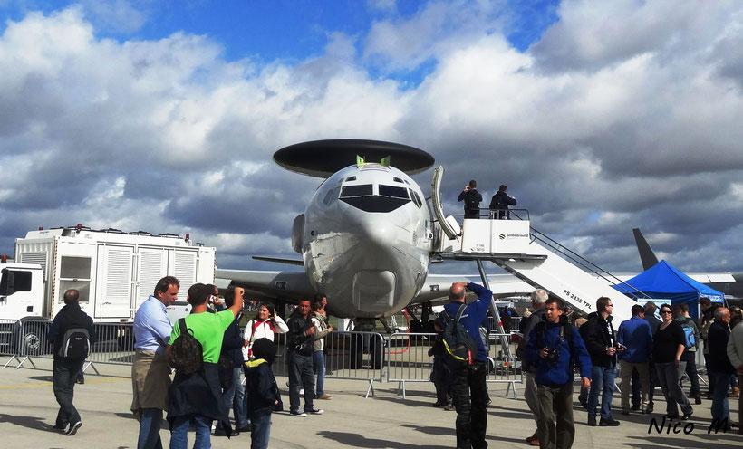 Aufklärungsflugzeug Boeing E-3 der US Air Force