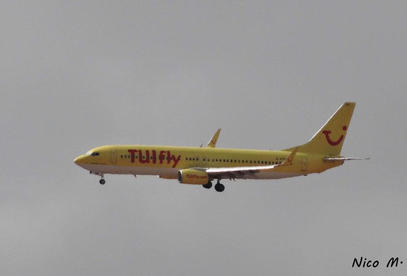 TUIfly Deuschland B737-800 (Boa Vista)