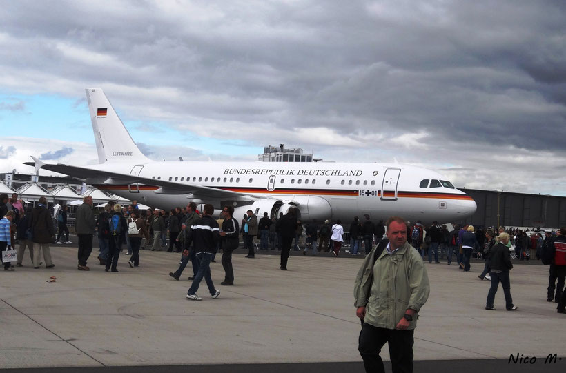 A320 der Deutschen Luftwaffe (Regierungsflugzeug)