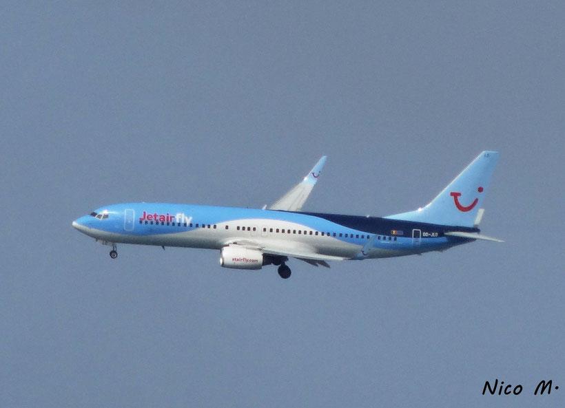 Jetairfly B737-800 (Boa Vista)