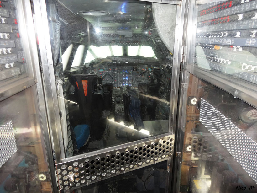 Cockpit der Concorde