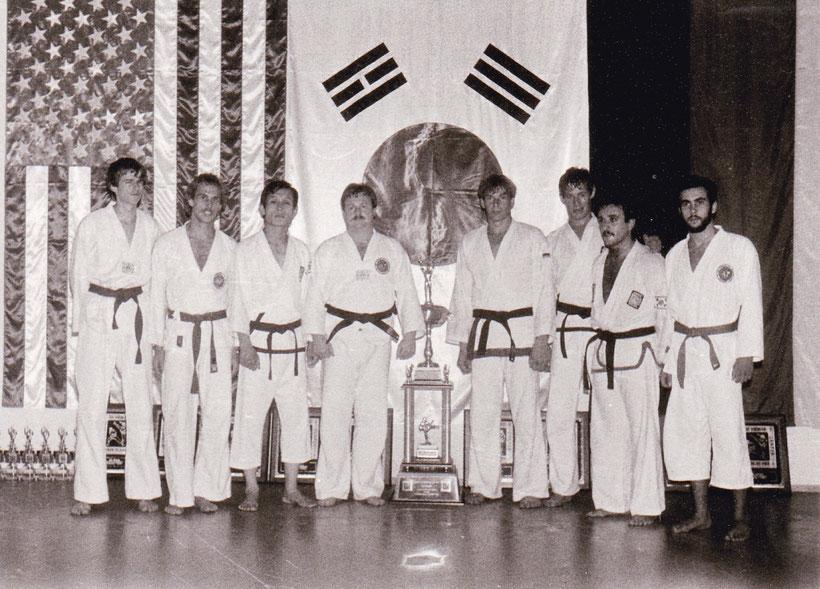 Schmid Raimund, Prechtl Sigurd, GM Kwon Jae-Hwa, Pfleghart Gerhard - Gebrüder Maier, Papadellis Efstratios, Hohenrainer Kurt