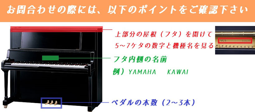 福岡の古川ピアノでピアノ買取申込時の確認ポイント