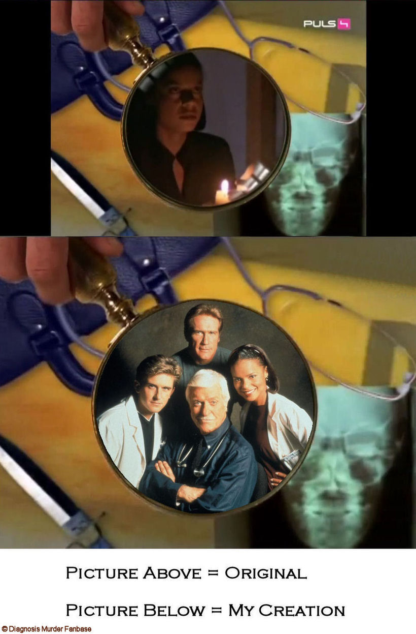 My Intro-version with a pic of the DM Season 6 cast with Dick Van Dyke, Barry Van Dyke, Charlie Schlatter & Victoria Rowell.