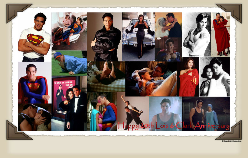"""This creation I've made for the 20th Anniversary of Dean's series """"Lois & Clark - The New Adventures of Superman""""."""